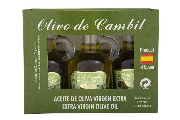 Olivo de Cambil Aceite de Oliva Virgen Extra Estuche 3×25 ml