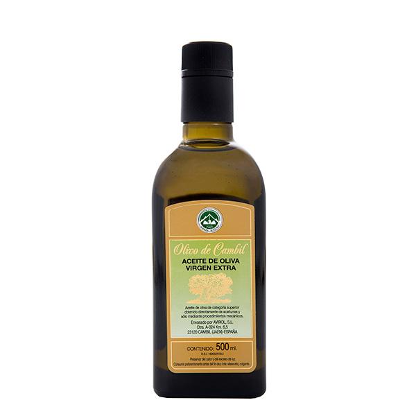 Olivo de Cambil Aceite de Oliva Virgen Extra Frasca Antique 500 ml