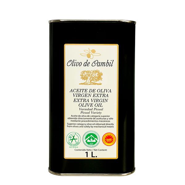 Olivo de Cambil Aceite de Oliva Virgen Extra Lata 1 L