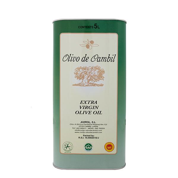 Olivo de Cambil Aceite de Oliva Virgen Extra Lata 5 L