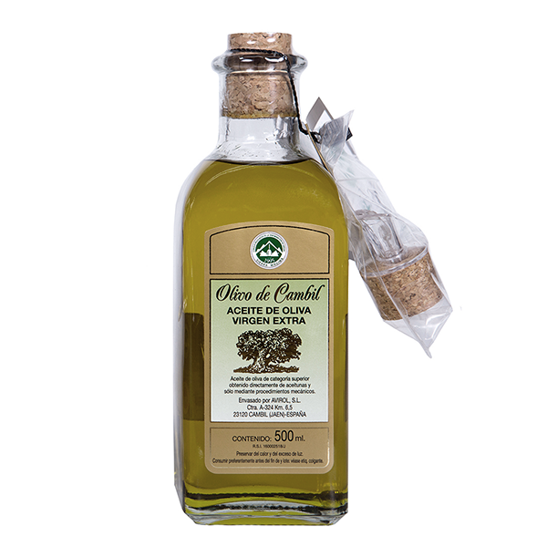 Olivo de Cambil Aceite de Oliva Virgen Extra Frasca 500 ml