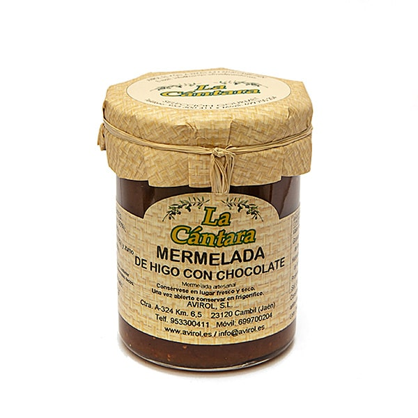 Mermelada de Higo con Chocolate