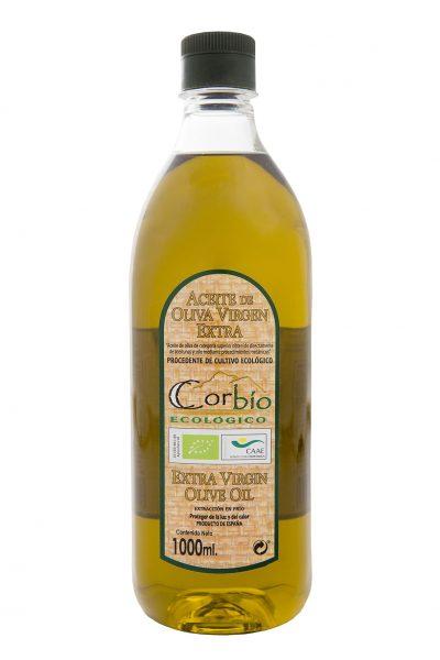 Corbío AOVE Ecológico Botella PET 1 litro