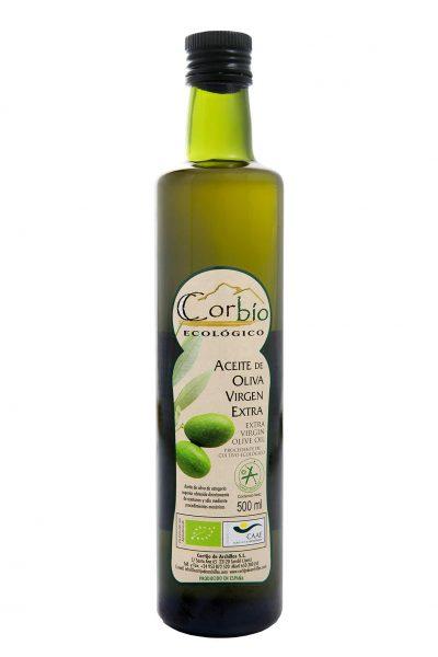 Corbío AOVE Ecológico Botella Dórica 500 ml