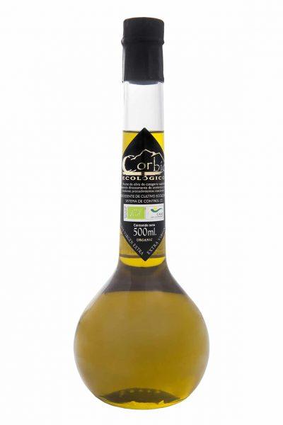 Corbío AOVE Ecológico Botella Émbolo 500 ml