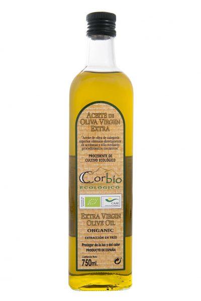 Corbío AOVE Ecológico Botella 750 ml