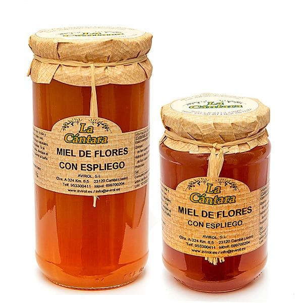 Miel de Flores con Espliego