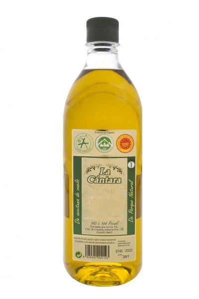 La Cántara Aceite de Oliva Virgen Extra Botella 1 litro PET