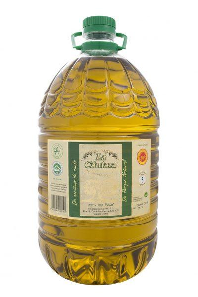 La Cántara Aceite de Oliva Virgen Extra Garrafa PET 5 litros