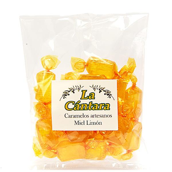 Caramelos Artesanos de Miel con Limón