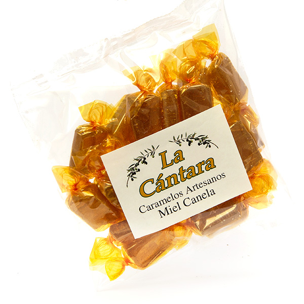 Caramelos Artesanos de Miel con Canela