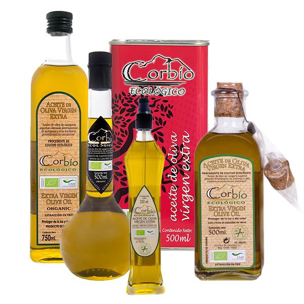 Aceite de oliva virgen extra (AOVE) ecológico CORBÍO